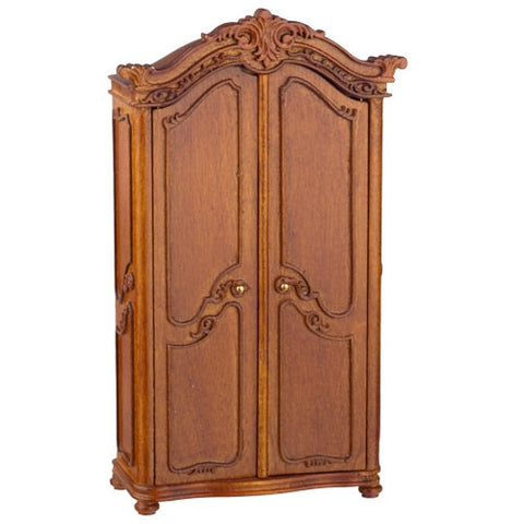 York Wardrobe, Walnut Finish