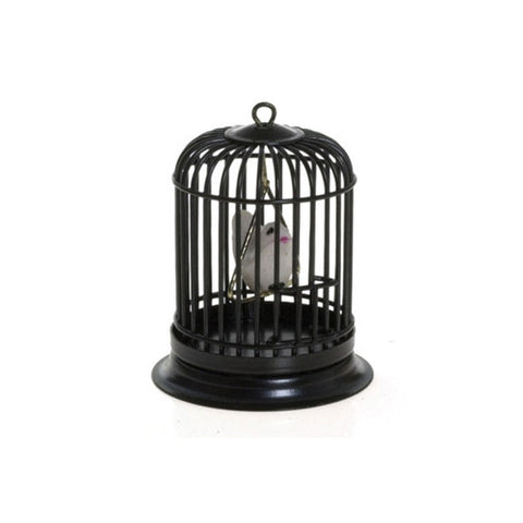 Birdcage, Round, Black, Table Size
