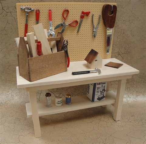 Work Bench with Accessories