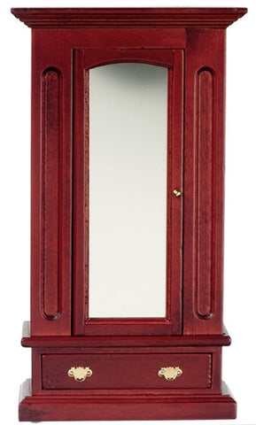 Armoire with Mirror, Mahogany