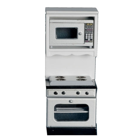 Oven Unit with Microwave