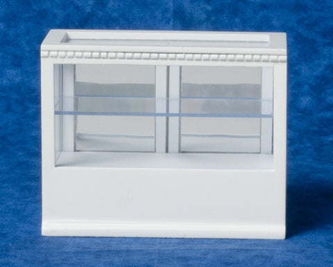 Store Display Counter, White, Smaller