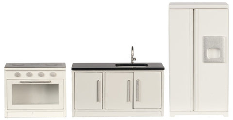 Modern Three Piece Kitchen Set