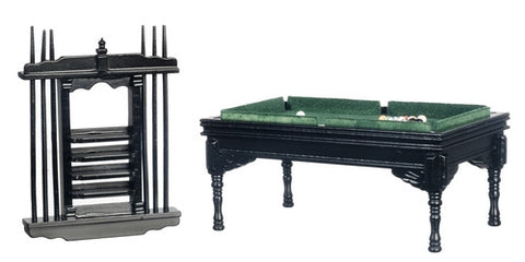 Pool Table Set, Black