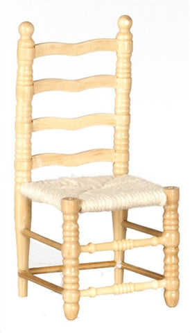 Ladder Back Chair, Oak