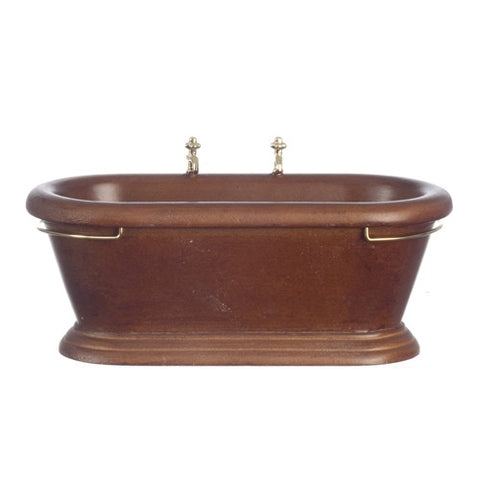 Bathtub, Old Fashioned Walnut