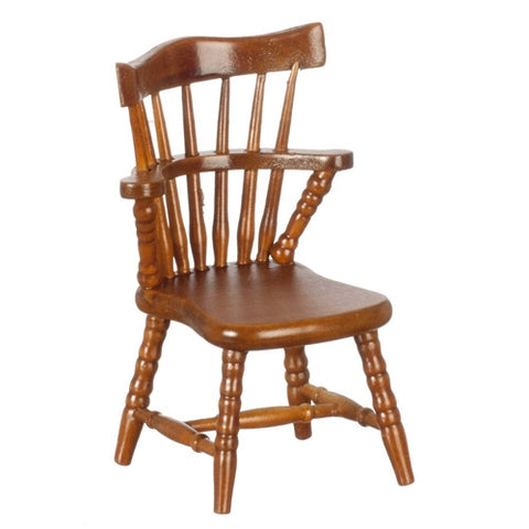 Windsor Chair, Walnut Finish