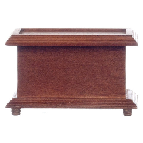 Toy Chest or Trunk, Walnut Finish