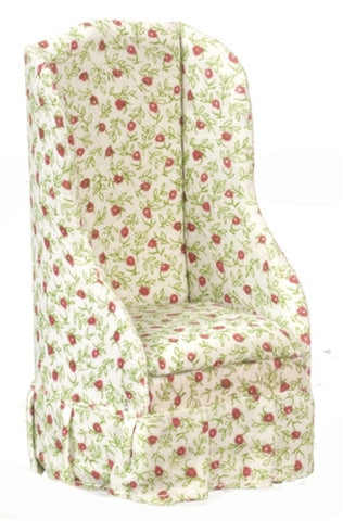 Chair with Red and Green Print OUT OF STOCK