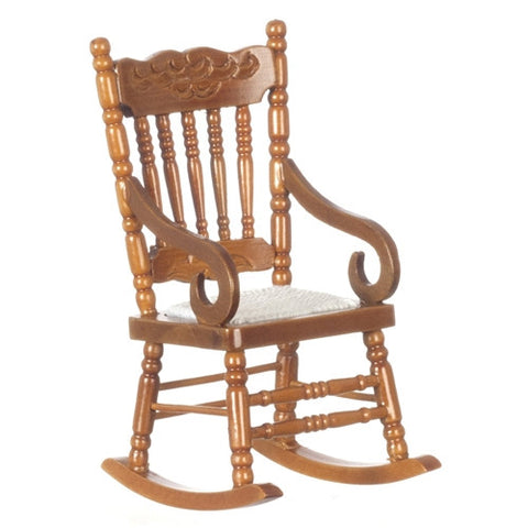 Rocking Chair,Walnut Finish