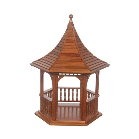Gazebo, Pecan Finish