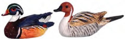 Duck Decoys, Pair