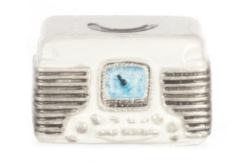 Retro Radio, White