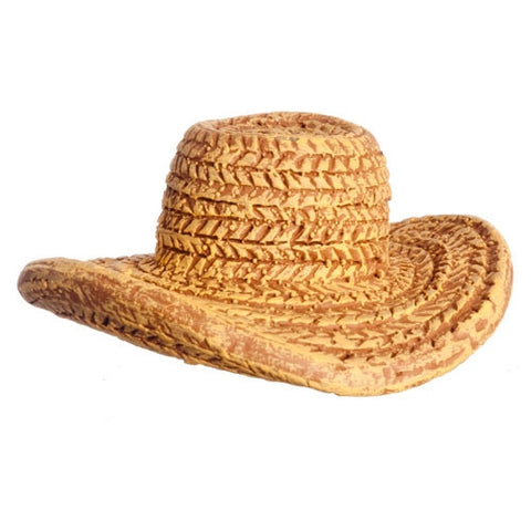 Straw Hat, Polyresin