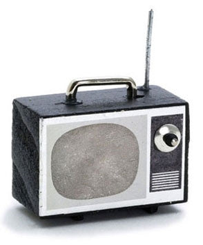 Television, Portable with Antenna