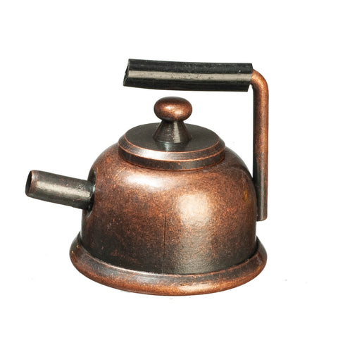 Tea Kettle, Aged Copper