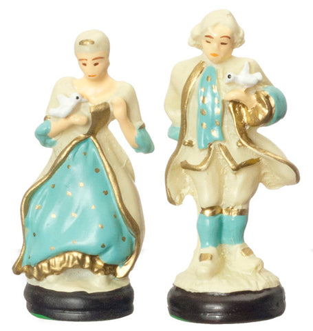 Pair of Colonial Figurines