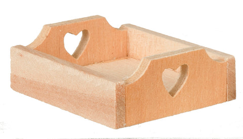 Little Wooden Tray with Hearts