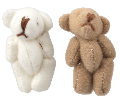 Teddy Bears, Set of Two, Plush