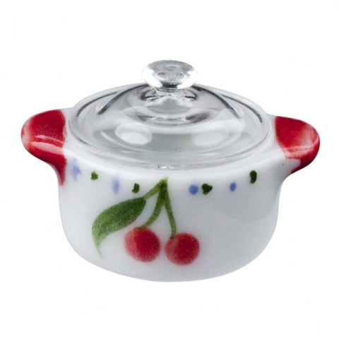 Dutch Oven with Cherry Design