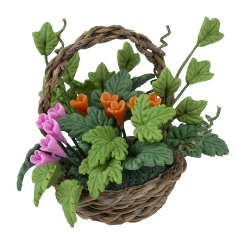 Dish Garden Basket of Flowers