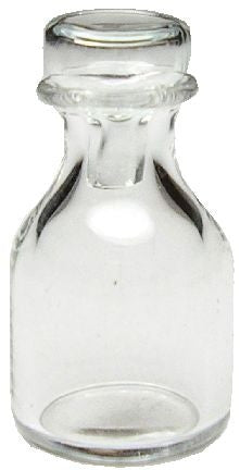 Glass Decanter W/Glass Top