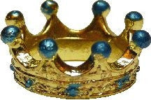 Crown - Gold & Turquoise