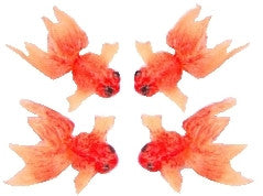 Gold Goldfish - Set of 4
