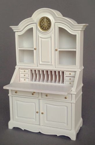Gigi Gustavian Desk, White Finish