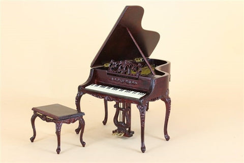 Bespaq Baby Grande Piano, Mahogany, Two Piece