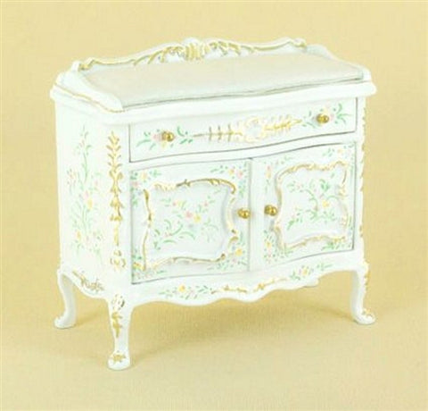 Sweet Home Changing Table, White Floral