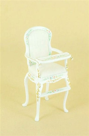 Sweet Home High Chair, White Floral