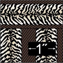Brodnax Prints Zebra Wallpaper