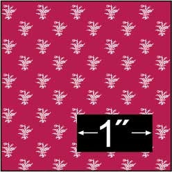 Brodnax Prints Thistle-Red Wallpaper