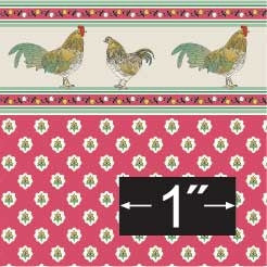 Brodnax Prints Rooster Wallpaper
