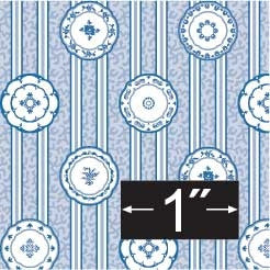 Brodnax Prints China-Blue Wallpaper