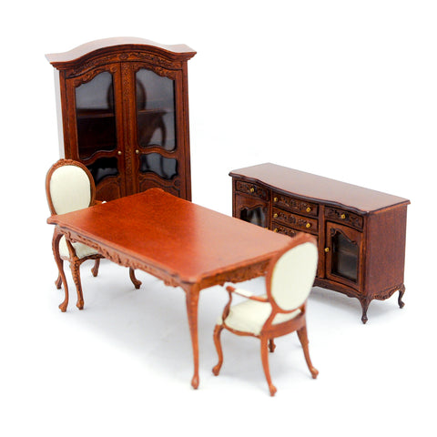 Dining Room, Five Piece Set, Walnut Finish