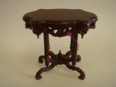 Victorian Eastlake End Table, Walnut Finish