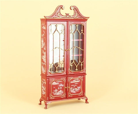 "The ""Cardinal Chinoise"" Mullioned Cabinet OUT OF STOCK"