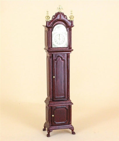 Grandfather Clock, Mahogany and Gold  OUT OF STOCK