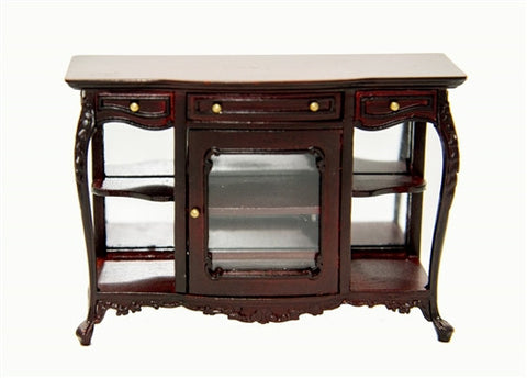 Alexandria Console Table, Mahogany