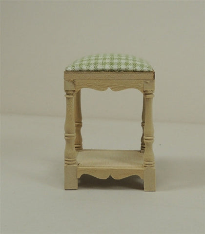 Bespaq Giada Kitchen Stool, Unfinished