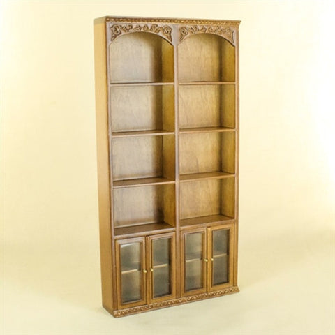 Greyford Double Bookcase Unit