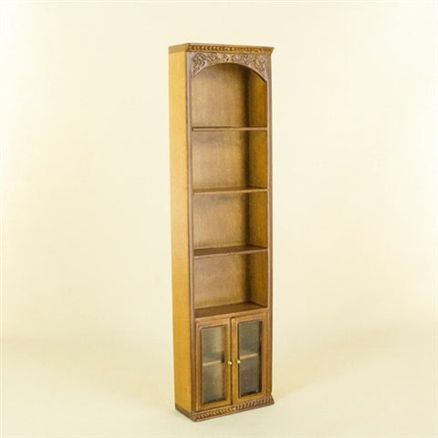 Greyford Single Bookcase Unit. *** Only ONE left in Mahogany. ***