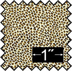 Silk Fabric, Leopard