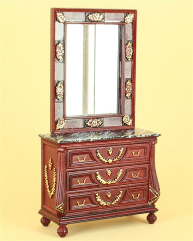 The Antoinette Console and Mirror Set