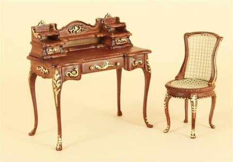 Bespaq Miniatures Anastasia Desk and Chair