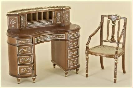 The Pensee Ladies Writing Desk Set ON SPECIAL