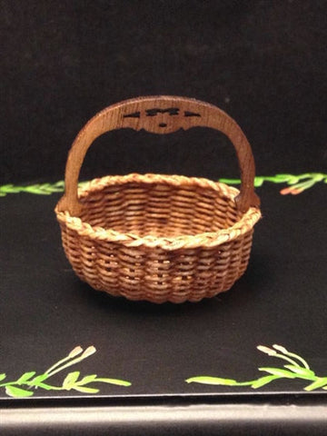 Irish Handled Low Berry Basket by Brandaen Jones