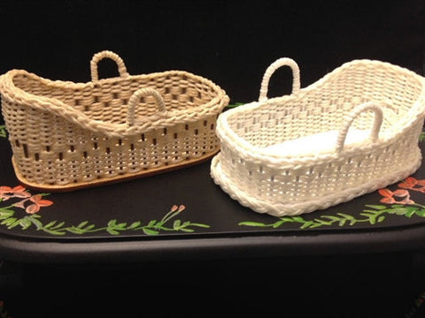 Fancy Weave Moses Baskets by Brandaen Jones